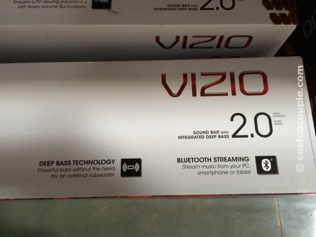 Vizio 2 Channel Soundbar with Bluetooth Costco 2