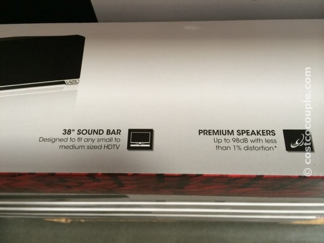 Vizio 2 Channel Soundbar with Bluetooth Costco 3