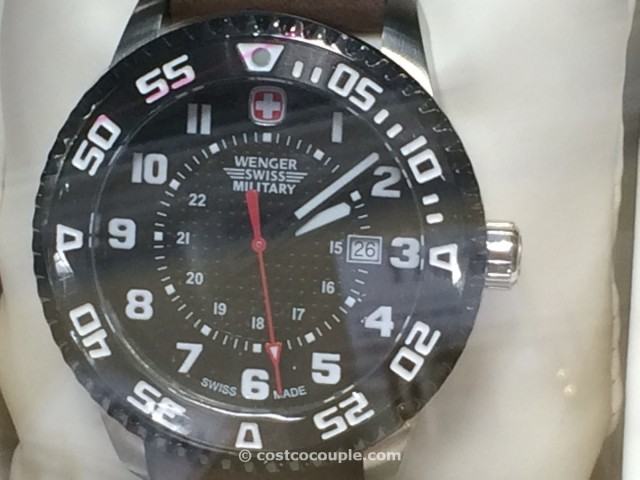 Wenger Swiss Military Stainless Steel Leather Costco 3
