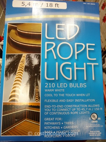 18-Foot LED Rope Light Costco 5