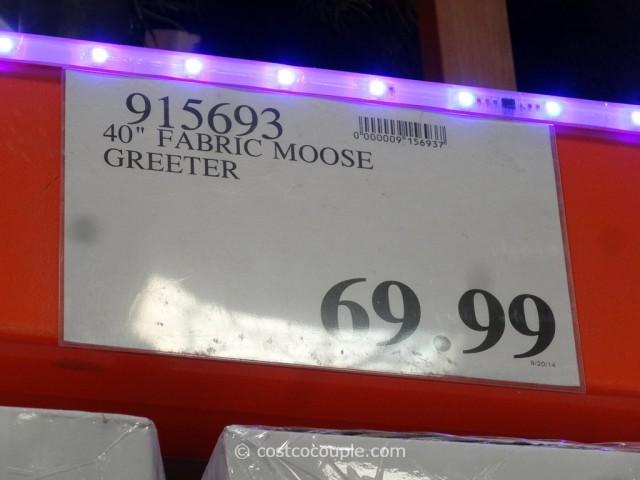 40-Inch Fabric Moose Greeter Costco 1