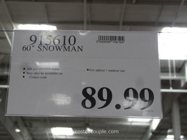 60-Inch Snowman Costco 1