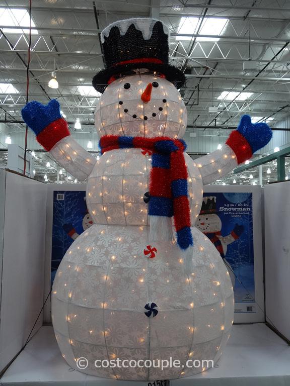 60-Inch Snowman Costco 4