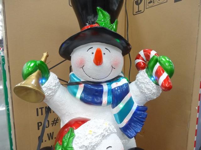 60-Inch Stacking Snowmen Costco 3