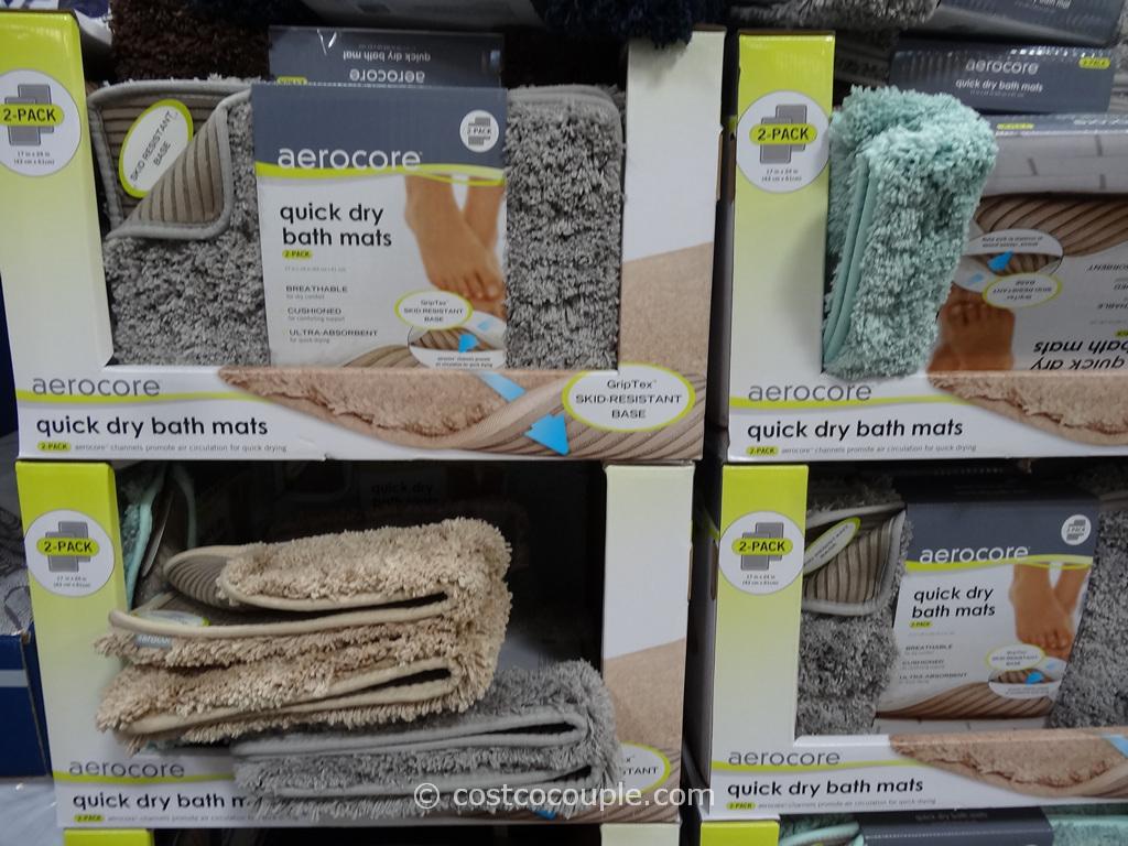 Aerocore Quick Dry Bath Mats Costco 1