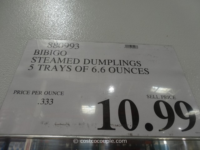 Bibigo Steamed Dumplings Costco 1