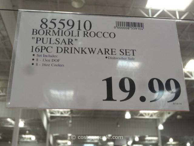 Bormioli Rocco Pulsar Drinkware Set Costco 1