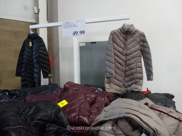 Calvin Klein Ladies Packable Down Coat Costco 1