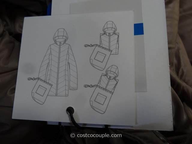 Calvin Klein Ladies Packable Down Coat Costco 2