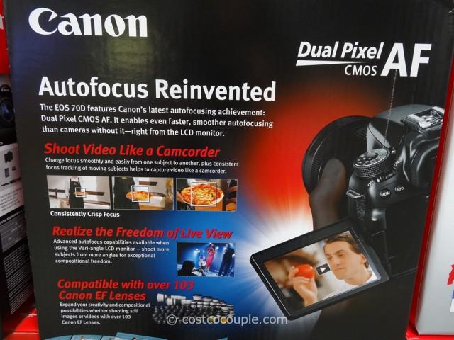 Canon EOS 70D Costco 2