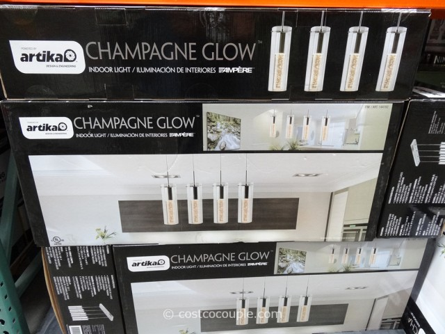 Champagne Glow Lighting Fixture Costco 1