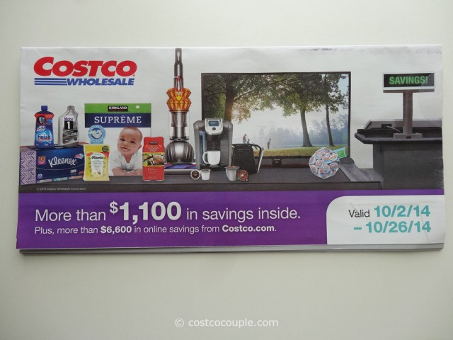 Costco October 2014 Coupon Book 1