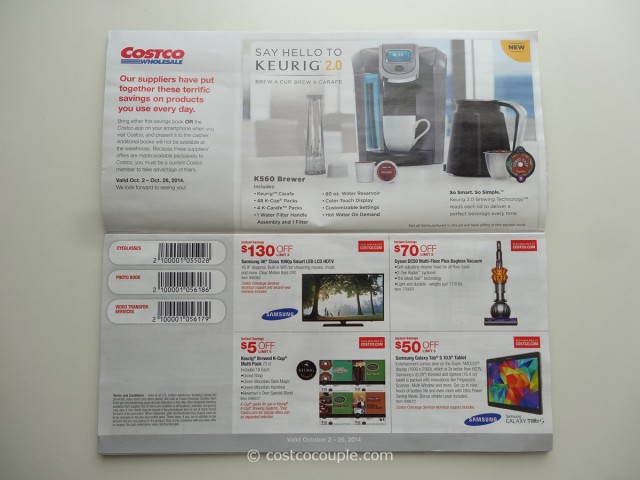 Costco October 2014 Coupon Book 2