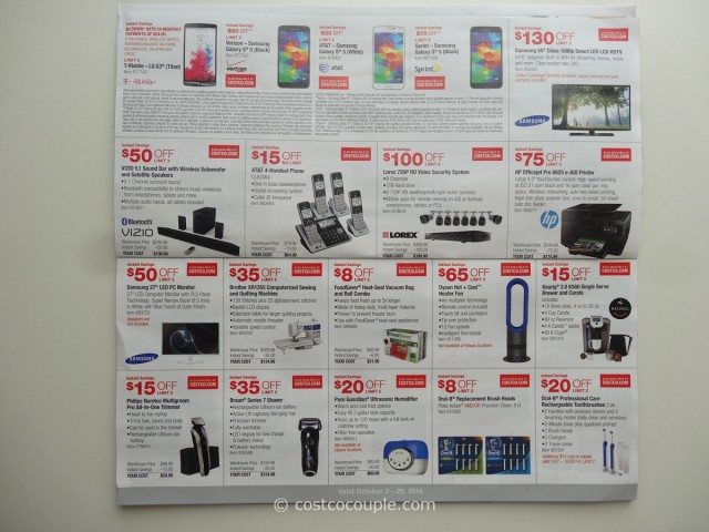 Costco October 2014 Coupon Book 3