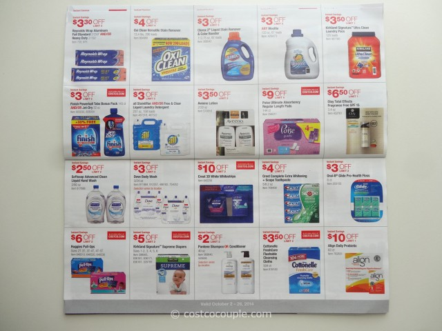 Costco October 2014 Coupon Book 5