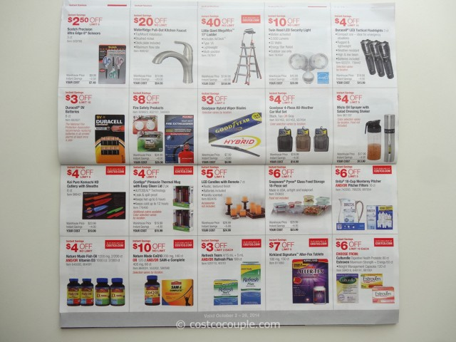 Costco October 2014 Coupon Book 6