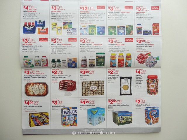 Costco October 2014 Coupon Book 7