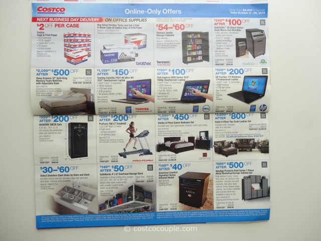 Costco October 2014 Coupon Book 9