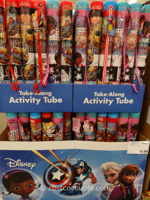 Disney Activity Tube Costco 2