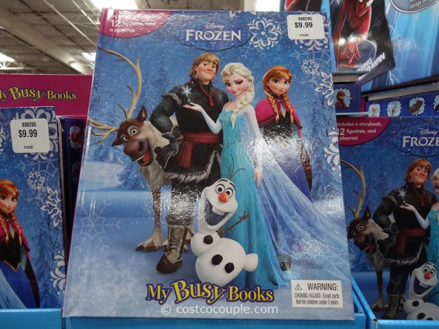 disney frozen my busy book - photo #13