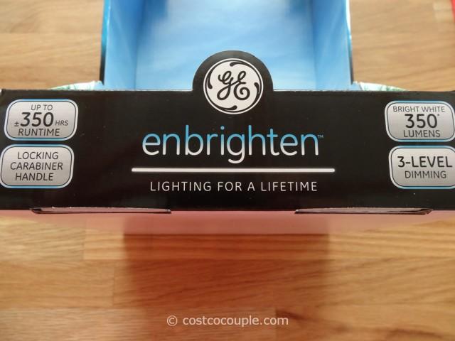 GE Enbrighten 350 Lumen Lantern Costco 10
