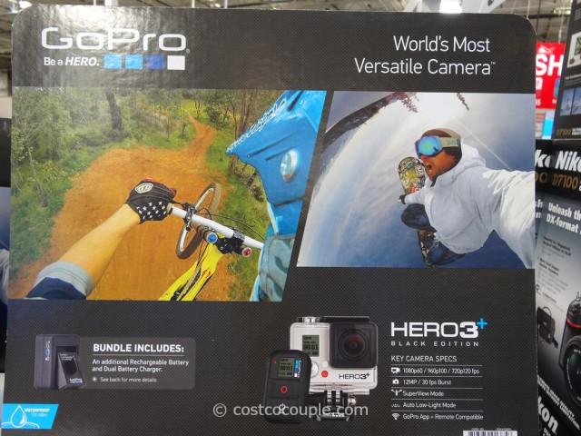 GoPro Hero3+ Black Edition Costco 1