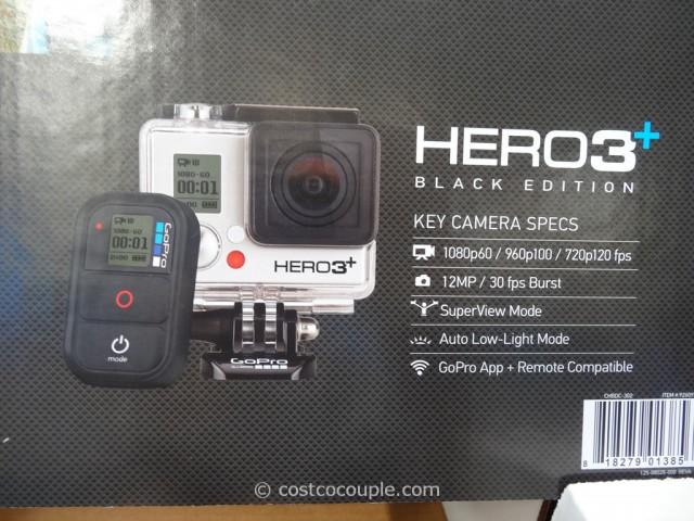 GoPro Hero3+ Black Edition Costco 2