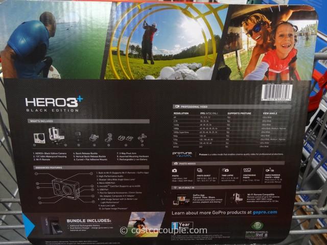 GoPro Hero3+ Black Edition Costco 5