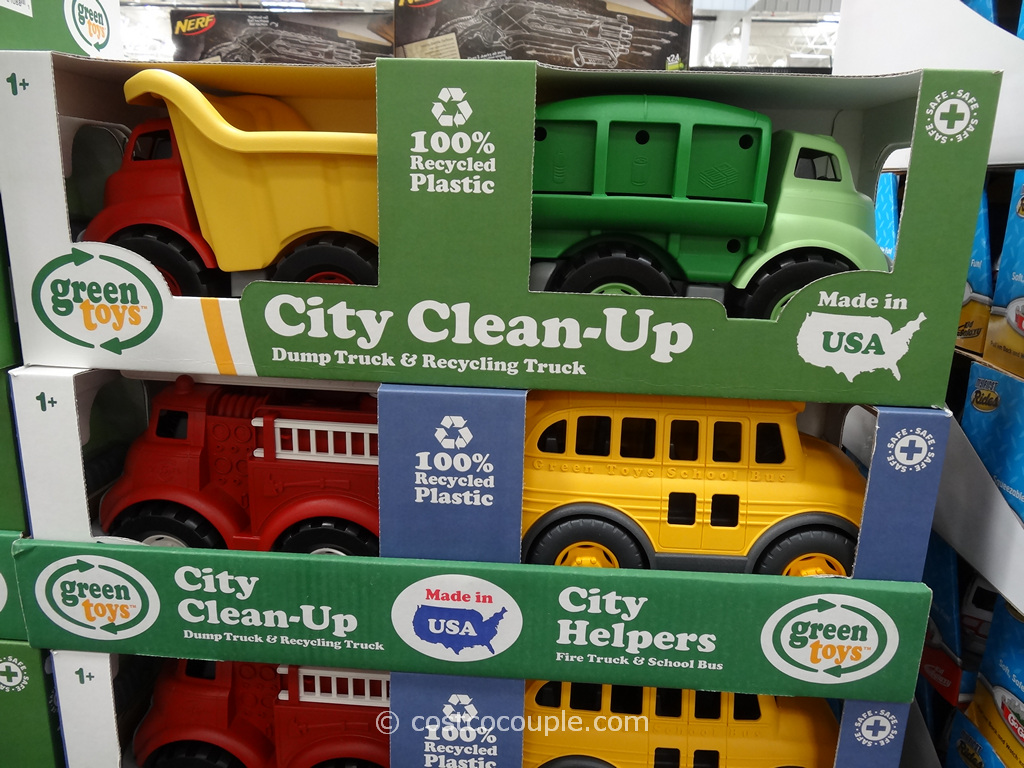 Green Toys City Clean-Up or Helpers Costco 2