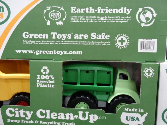 Green Toys City Clean Up Or Helpers