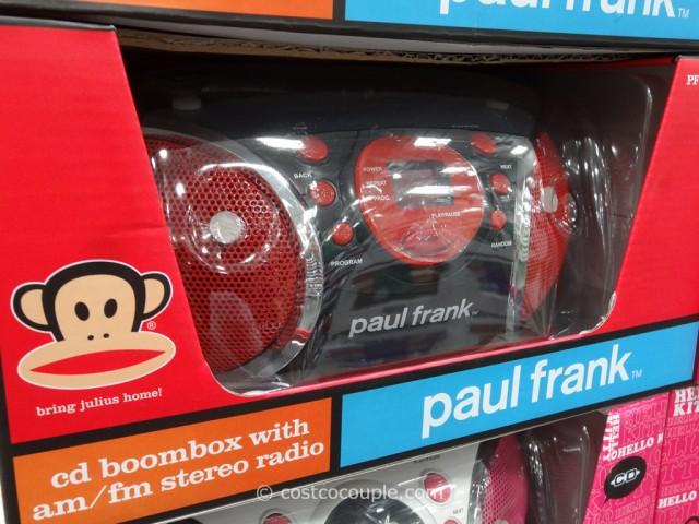 Hello Kitty Paul Frank Cd Boom Box