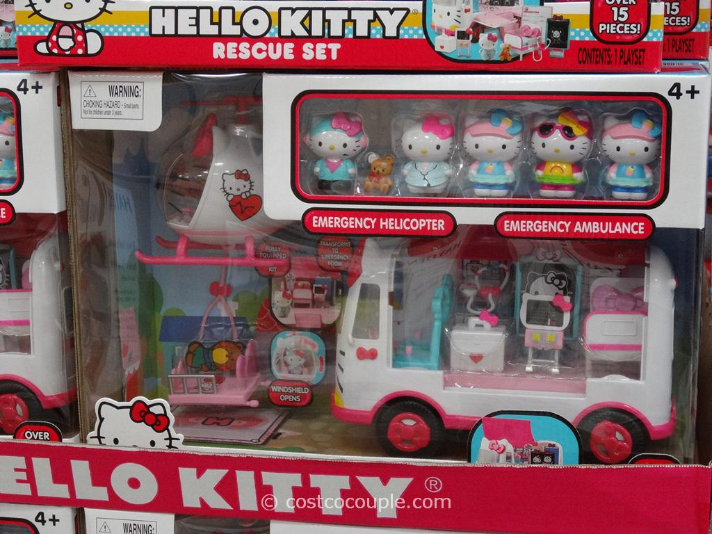 Hello Kitty Rescue Set Costco 2