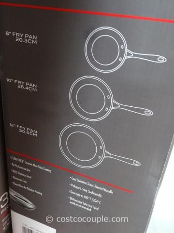JA Henckles 3-Piece RealClad Fry Pans Costco 8