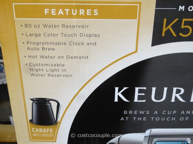 Keurig K560 Single Brewer Costco 3