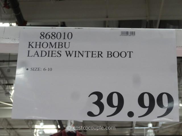 Khombu Ladies Winter Boot
