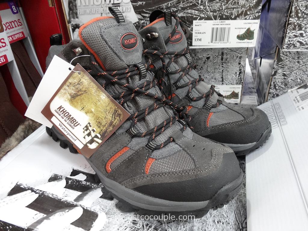 Khombu Mens Hiker Boots Costco 5