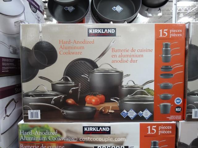 Kirkland signature 15 piece hard anodized cookware set - How to clean hard anodized cookware exterior ...