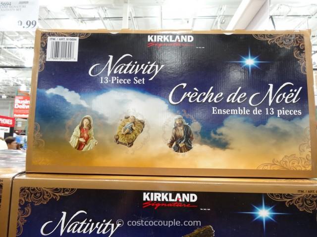 Kirkland Signature 2014 Nativity Set Costco 3