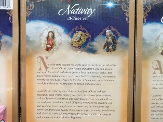 Kirkland Signature 2014 Nativity Set Costco 4