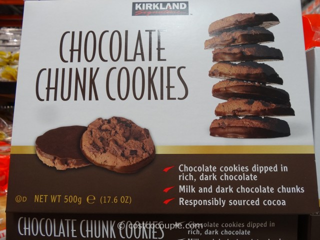 Kirkland Signature Chocolate Chunk Cookies Costco 2