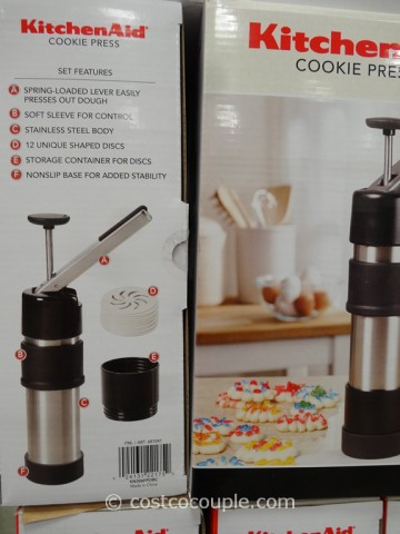 KitchenAid Cookie Press Costco 2