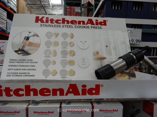 KitchenAid Cookie Press Costco 5
