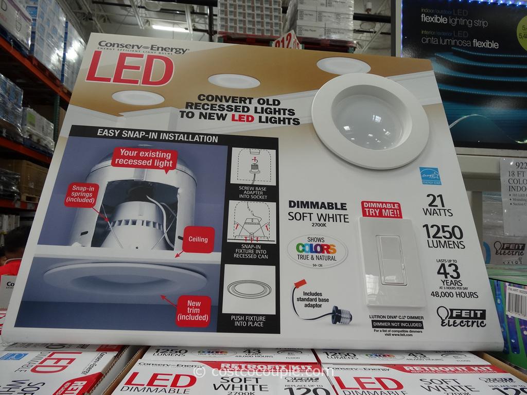 LED 6-Inch Retrofit Kit Costco 2
