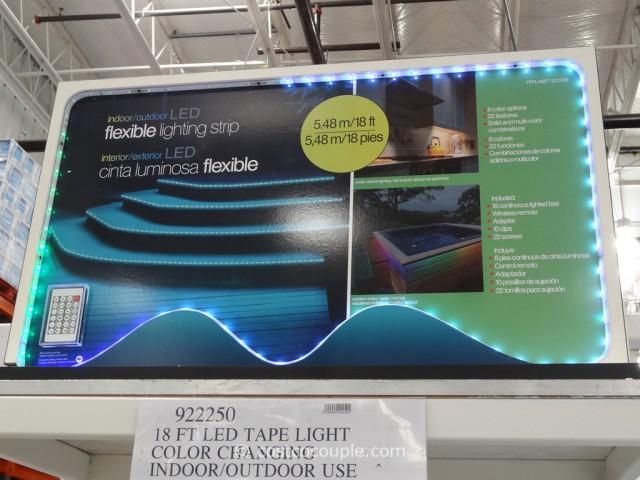 led flexible lighting strip costco 2. Black Bedroom Furniture Sets. Home Design Ideas
