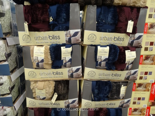 Costco Throw Blanket Fascinating Life Comfort Urban Bliss Throw
