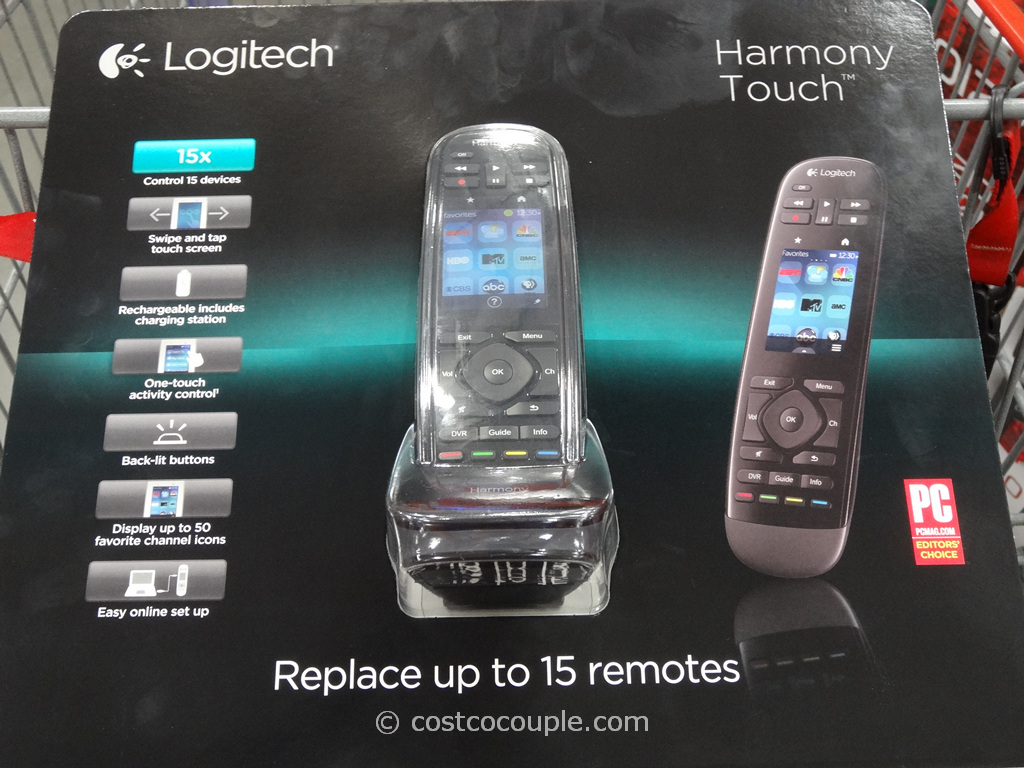 Logitech Harmony Touch Universal Remote Costco 2