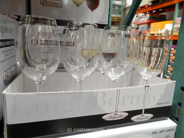 Luigi Bormioli Symphony All-Purpose Wine Stems Costco 2