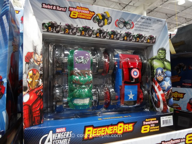 Marvel Regener8ers Costco 3