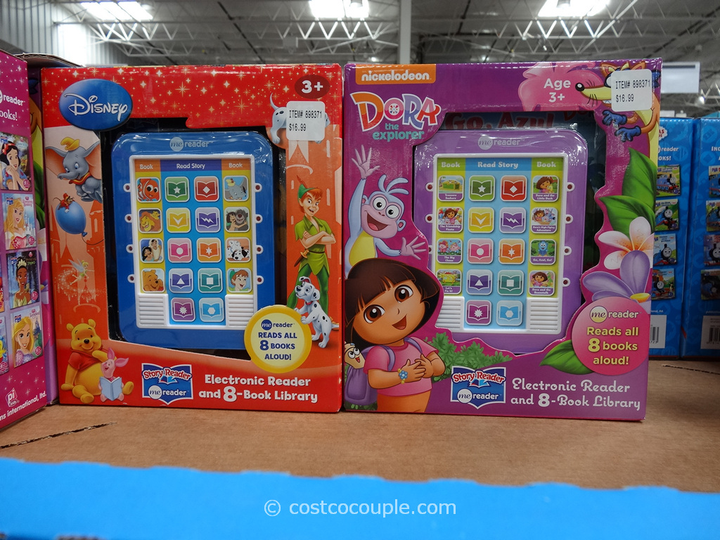 MeReader Electronic Reader Book Set Costco 1