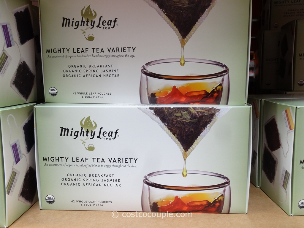 Mighty Leaf Organic Tea Variety Pack Costco 2